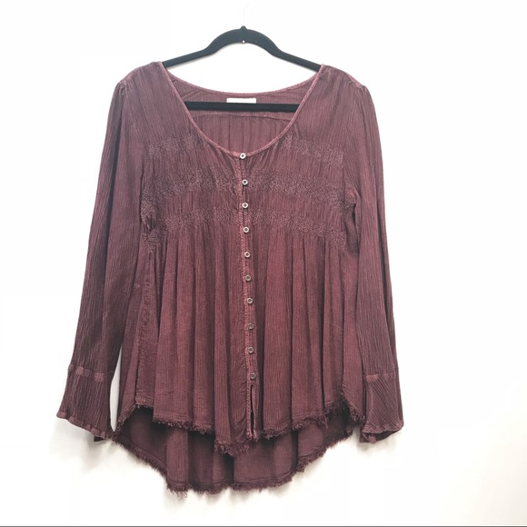 50380c5f2fa Altar d State Tops - Altar d State • Women s Bell Sleeve Top Size